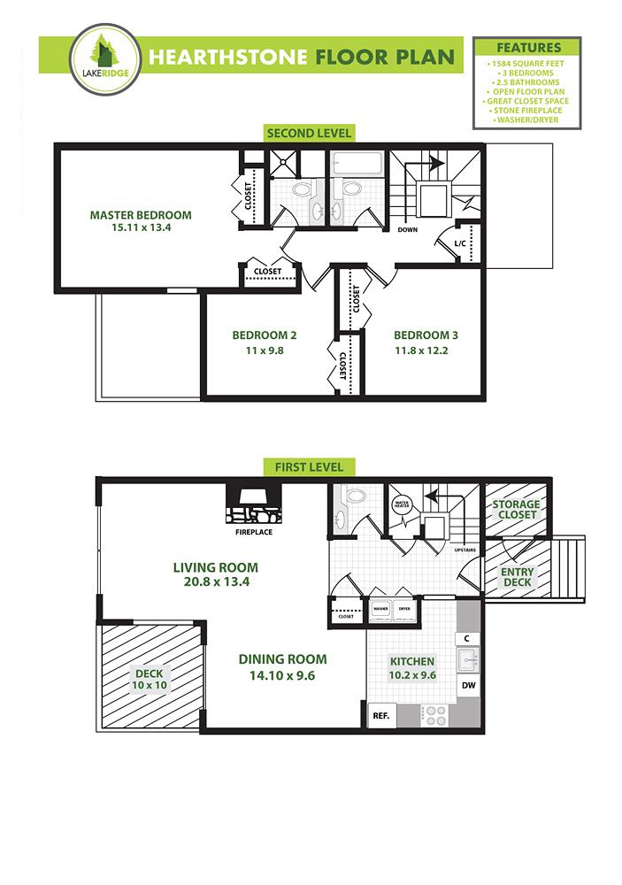 Hearthstone Floorplan