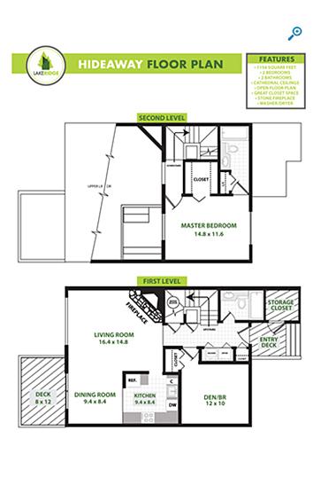 Hideaway Floorplan