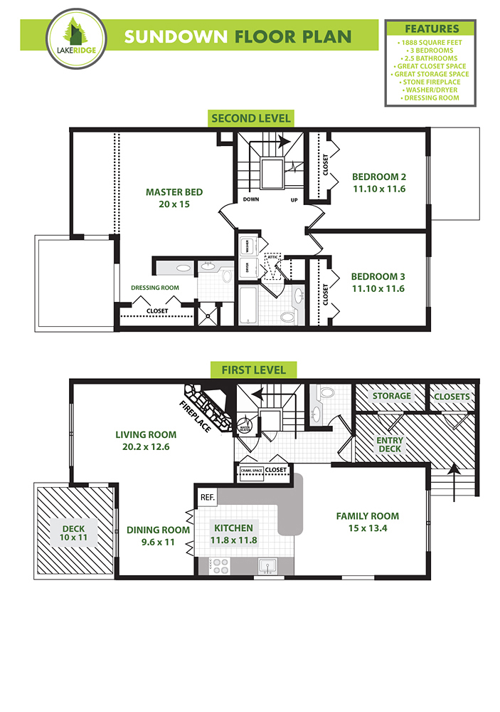 Sundown Floorplan