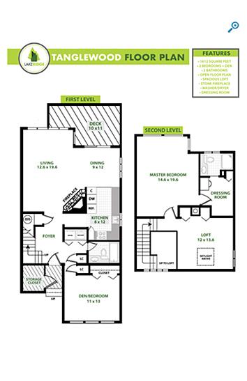 Tanglewood Floorplan
